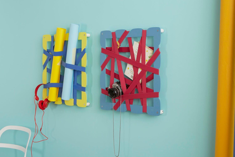 Portaoggetti colorati originali GLAM con bande elastiche