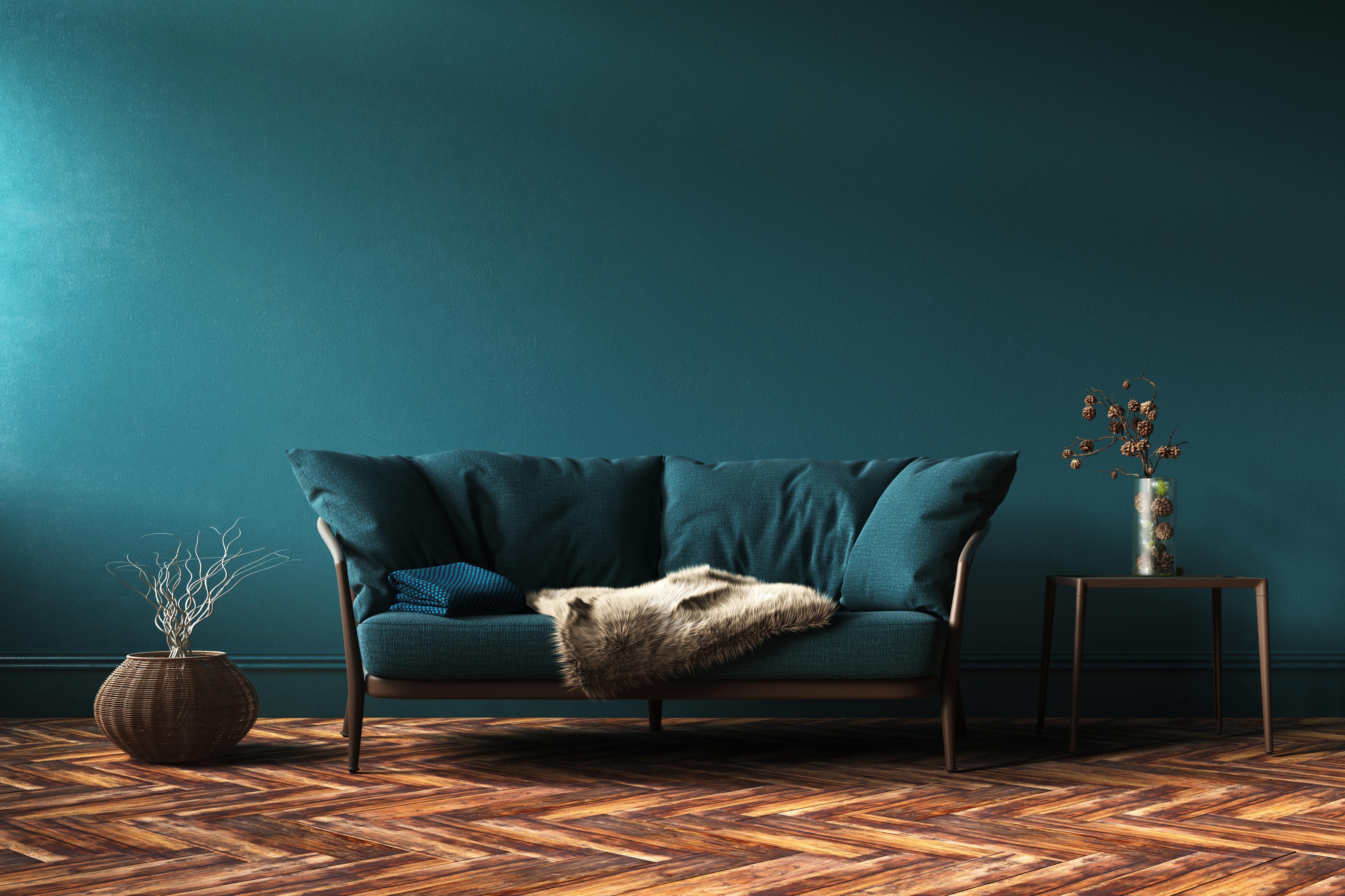 Come abbinare le pareti al pavimento color cioccolato