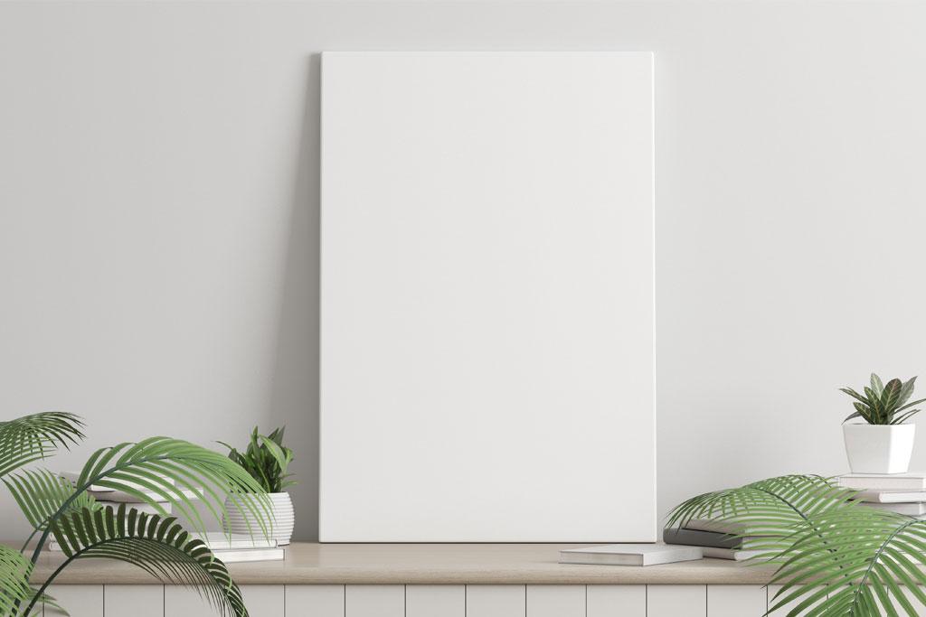 arredare-una-parete-bianca