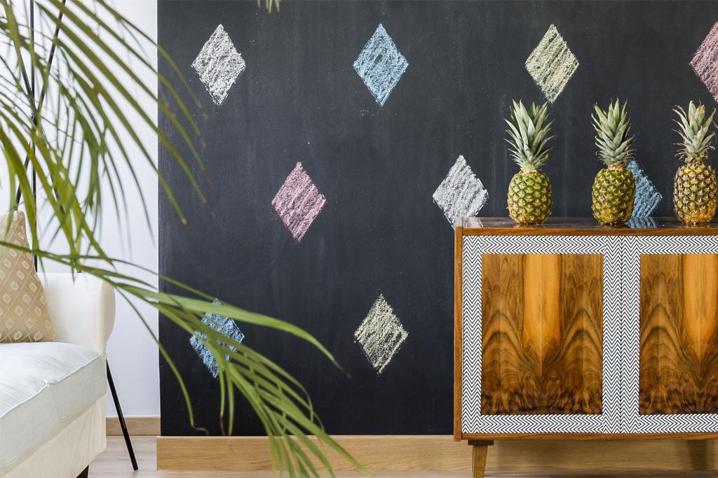 parete-arredata-con-vernice-lavagna